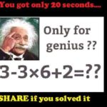 Intermediate maths challenge for genius